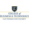 East Tennessee State University College of Business and Technology  Logo