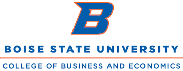 Image result for College of Business & Economics boise state university logo